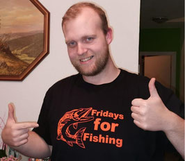 Fridays for Fishing DAS T-SHIRT! Messeaktion