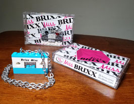 """*Special Edition* Each Piece Comes in a Miss Brixx Cassette Tape Case! Boomboxes & """"Brixx Mixx"""" Tape Cassettes."""