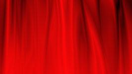動画撮影/宣材写真撮影用 背景布 赤い背景