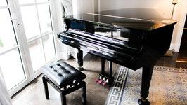 動画撮影/宣材写真撮影用 背景布 グランドピアノ