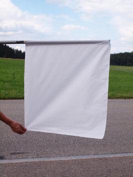 Flagge weiss/ Drapeau blanc (ca.700mm x 620mm)
