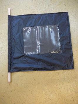 Flagge schwarz spezial/ Drapeau noir special (ca.700mm x 620mm)
