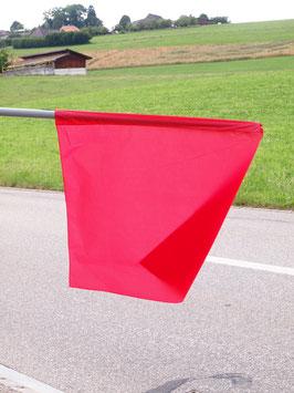 Flagge Rot/ Drapeau Rouge (ca.700mm x 620mm)