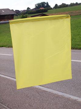 Flagge Gelb/ Drapeau Jaune (ca.700mm x 620mm)