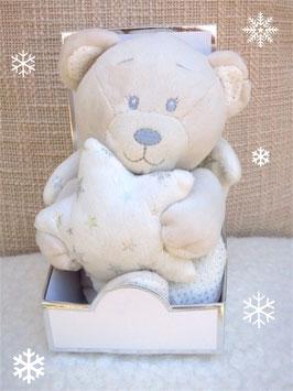 Teddy-Engel mit kleinen Flügeln & Stern