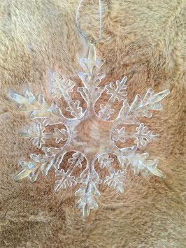 Eiskristall zum Hängen