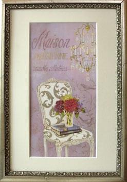 "Bild ""Maison parisienne"", gerahmt"