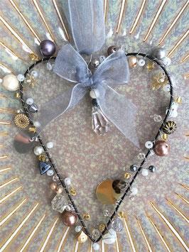 Perlen-Herz, filigran