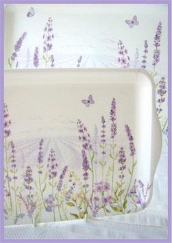 Tablett Lavendel