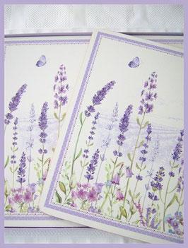 Tischsets Lavendel