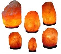 Salzlampe ca.  6,5 - 9 kg