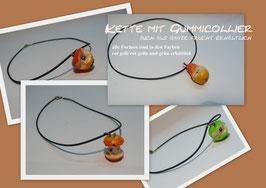 Gummicollier Obst