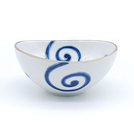 *SIDE OVAL BOWL: MARU UZU