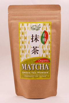 JAPANESE ORGANIC MATCHA GREEN TEA POWDER 40g