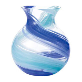 *HANDMADE VASE: BLUE