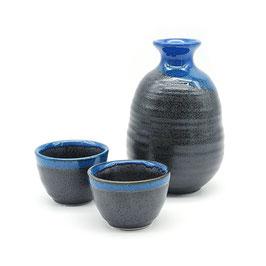 *SAKEWARE: BLUE EDGED BLACK