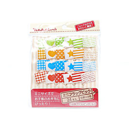 *BENTO ACCESSORIES PICKS : FLAG PICKS
