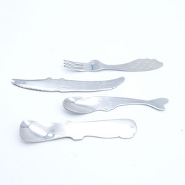 *KIDS: ANIMAL FORK/SPOON/KNIFE SET