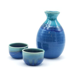 *SAKEWARE: BLUE GRADATION