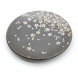 *LARGE PLATE : BLACK SAKURA
