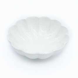 *SIDE BOWL: WHITE FLOWER M