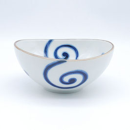 SIDE OVAL BOWL: KAKU UZU