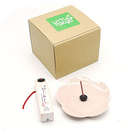 *INCENSE & SAKURA TRAY SET