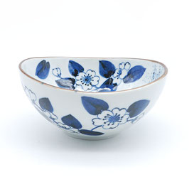 *SIDE OVAL BOWL: CAMELIA