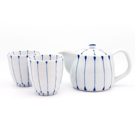 *TEAWARE: BLUE STRIPE