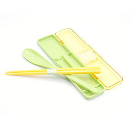 *BENTO CUTLERY SET:  YELLOW CORN