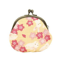GAMAGUCHI COIN PURSE: RABITT YELLOW