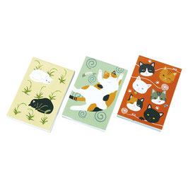 MEMO PADS 3PSC SET: CATS