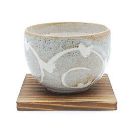 *TEA CUP: YUTTARI SHINO GRAY