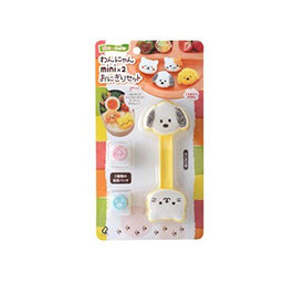 *BENTO ACCESSORIES RICE BALL MAKER : DOG CAT MINI ONIGIRI MAKER