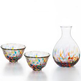 *GLASS SAKEWARE GIFT: NEBUTA NAGASHI