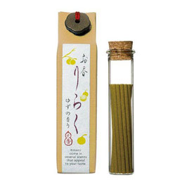 *RIRAKU STICK INCENSE 15P: YUZU