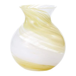 *HANDMADE VASE: YELLOW