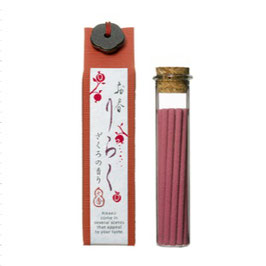 *RIRAKU STICK INCENSE 15P: POMEGRANATE