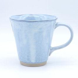 *MUG: SNOW BLUE