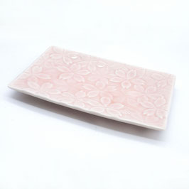 SIDE PLATES: RECTANGLE PLATE SAKURA