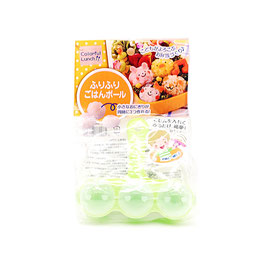 *BENTO ACCESSORIES RICE BALL MAKER : SHAKING ONIGIRI BALL MAKER