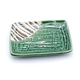 *SIDE PLATE: ORIBE GREEN