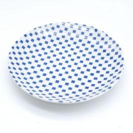*PLATE : ICHIMATSU CHECK BLUE