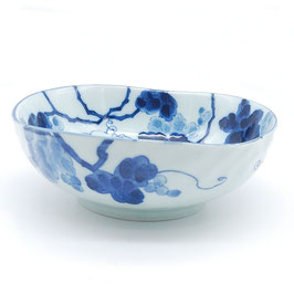 *MEDIUM BOWL : INDIGO GRAPE
