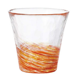*HANDMADE GLASS CUP: CARTHAMUS