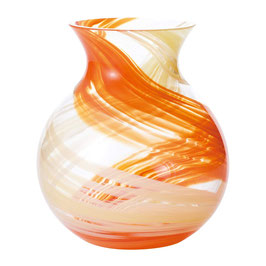 *HANDMADE VASE: YELLOW & ORANGE