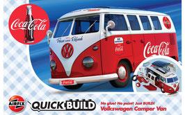 VW Camper Van Coca Cola
