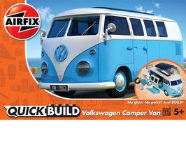 VW Camper Van Blue