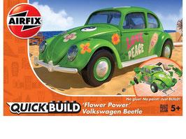 VW Beetle Flower Power