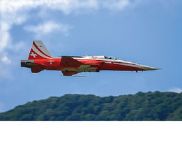 F-5E Tiger ll Patrouille Suisse 50th Anniversary